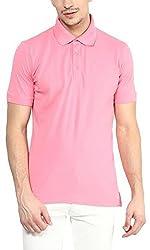 Yellow Submarine Cotton Pinkj cotton Yellow submarine Polo T-shirt-Pink X-Large