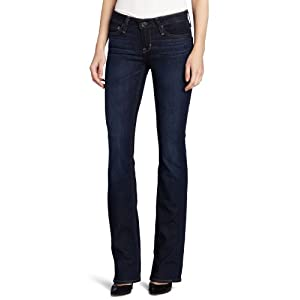 Big Star Women's Hazel Slim Boot Cut Jean, Olympia Medium, 27 Regular