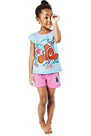 Pure Cotton Finding Nemo Shortie Pyjamas with 3D Glasses