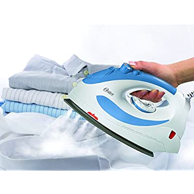 Oster 5105-449 1300-Watt Steam Iron(White) Iron