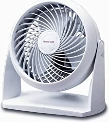 Honeywell HT-904C Tabletop Air-Circulator Fan, White