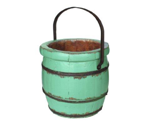 Antique Revival Vintage Sivas Barrel Bucket, Turquoise front-739798