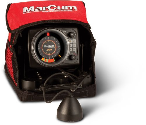 using fish finder for ice fishing