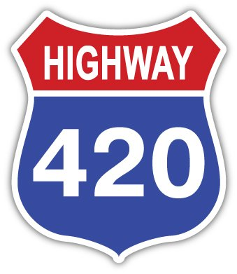 Highway-420-weed-cannabis-marijuana-sticker-decal-4-x-5