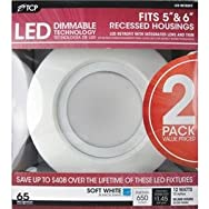 TCP RL12DR6527K2 LED Retrofit Recessed Light Kit-12W 5/6