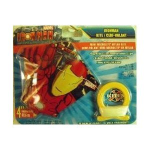 Iron-Man Mini Microlite Mylar Kite