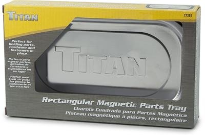 Titan 21265 Rectangular Magnetic Tray titan titan w780 1662kl03