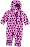 Playshoes All-in-one Fleeceoverall Dots-Peto Beb� ni�os    Morado Purple (Light Lilac) 9 mes