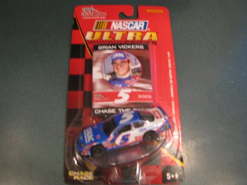 2003 Brian Vickers #5 GMAC Monte Carlo 1/64 Scale Diecast Ultra Series Racing Champions