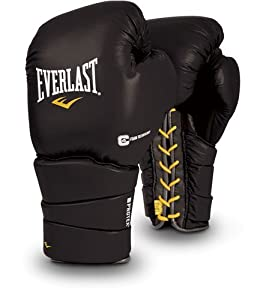 Buy Everlast ProTex3 Compete Professional Training Gloves, Laced by Everlast