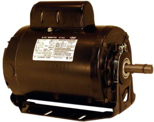 A.O. Smith Rb1054Av1 1/2 Hp, 1725 Rpm, 115/230 Volts, 56 Frame, Open Enclosure, Ball Bearing Capacitor Start Motor
