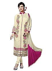 Aarna Fashion Cool Beige Colour Salwar Suit
