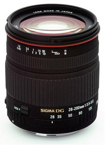 Sigma 28-200mm f/3.5-5.6 DG IF Macro Aspherical Lens for Canon SLR Cameras