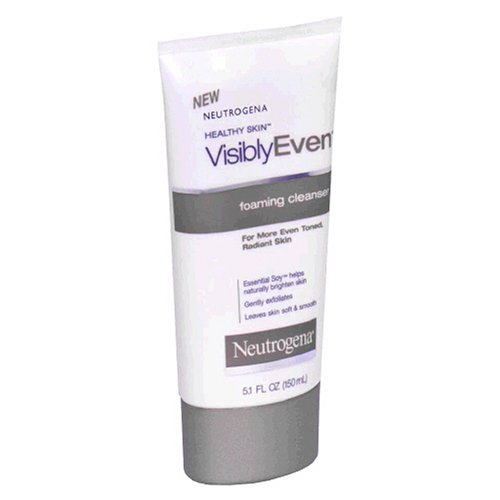 Neutrogena Visibly Even Foaming Cleanser, 5.1 Ounce (Pack Of 3)