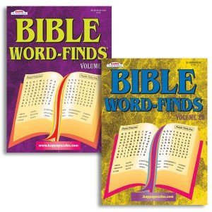 Package of Two Bible Word Finds/Volumes 77 and 78/Word Searches/Puzzle Books/Inspirational Books - 1