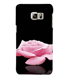 PrintVisa Rose Design 3D Hard Polycarbonate Designer Back Case Cover for SAMSUNG GALAXY NOTE 6
