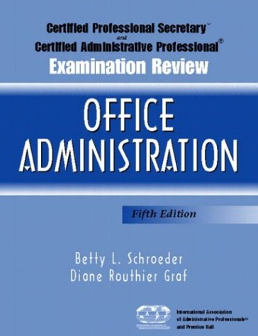 Certified Professional Secretary Examination and...