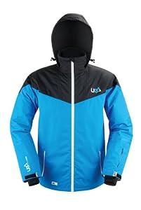Urban Beach Men's Toasty Ski Jacket - Blue, Large