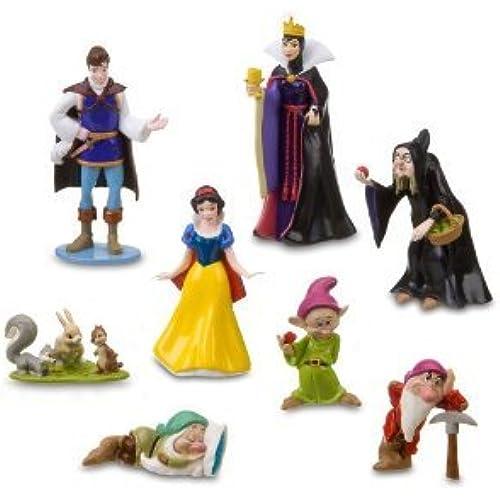 Disney (디즈니) Snow White (백설 공주와 일곱 난쟁이) and The Seven Dwarfs 피규어 Set - 8 PCS.(201585)(병행수입)