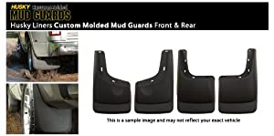 06 – 10 Hummer H3 Husky Custom Molded Splash Guard Mud Flap – Front & Rear
