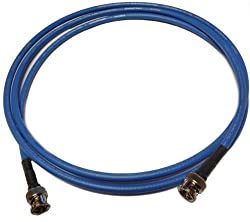 8ft RG59 HD SDI BNC Cable Gepco VPM2000 Cable - Blue