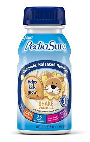 Pediasure Nutrition Drink, Vanilla, 8-Ounce Bottles (Pack Of 24)