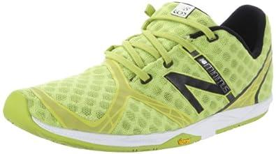 New Balance Men's MR00 Minimus Running Shoe, Green/Black-8.5 D - Medium