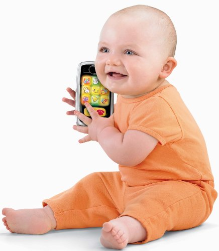 411SDOf67rL Fisher Price Laugh & Learn Smilin Smart Phone