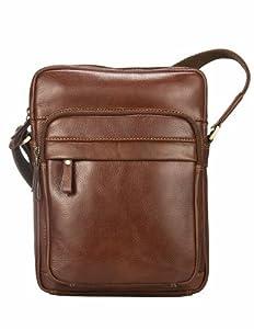 Visconti CRUZ - Soft Leather Ziptop Cross Body Bag - Vintage 1