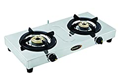 Sunshine Cute Double Burner Stainless Steel Gas Stove