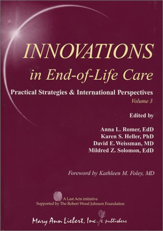 Innovations in End-of-Life Care Volume 3