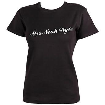 Mrs Noah Wyle T-shirt by Dead Fresh, S