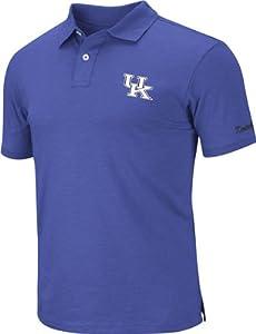 Kentucky Wildcats Royal Choice Slub Knit Polo Shirt by Colosseum