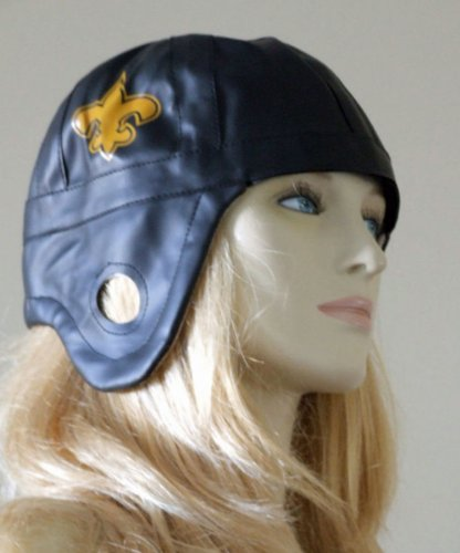 Football Helmet Retro Saints Halloween Mardi Gras Costume New Orleans Prom Party