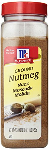 Mccormick Ground Nutmeg Seasoning, 16-Ounce