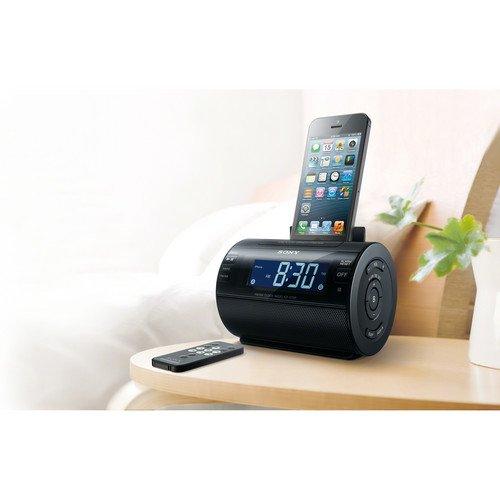 sony icfc11ip lightning iphone ipod clock radio speaker. Black Bedroom Furniture Sets. Home Design Ideas