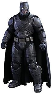 "Hot Toys 1:6 Scale ""Armoured Batman"" Batman VS Superman Dawn of Justice Figure (Black/Grey)"