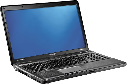 Toshiba Satellite Laptop - 2nd Gen Intel® CoreTM i7-2670QM processor / 8GB DDR3 memory / 750GB Serial ATA hard drive (5400 rpm) / DVD±RW/CD-RW drive / 15.6
