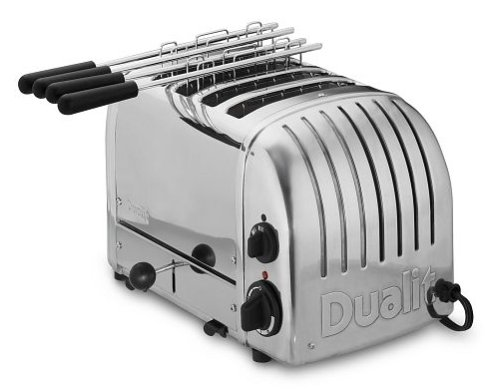 Dualit 2+2 Stainless Steel Toaster 42174