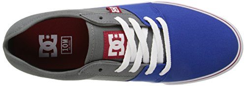 DC Men's Tonik TX Skateboarding Shoe, Grey/Grey/Green, 7 D US