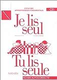 echange, troc Calle, Ferrand, Montmayeur - Je lis seul, tu lis seule, CE1. Fichier autocorrectif