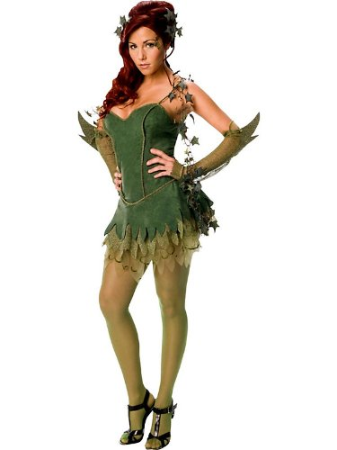 Women's Sexy Poison Ivy Costume