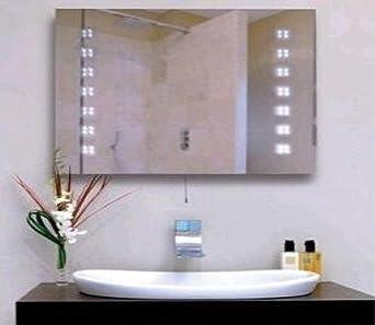 Illuminated LED Bathroom Mirror Lighting