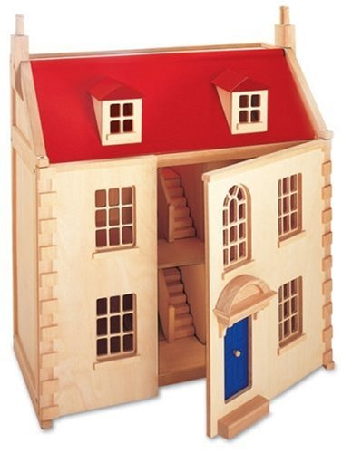 Pintoy Wooden Marlborough Dolls House