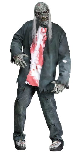 FunWorld Rotted Zombie Adult Costume