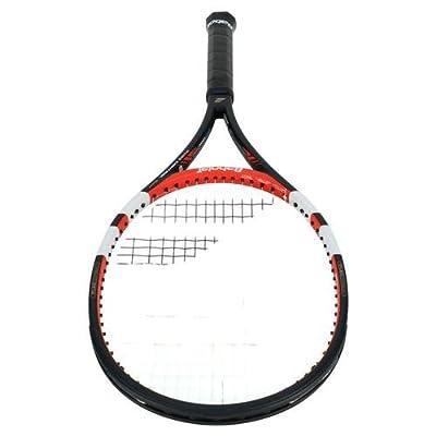 Babolat 101201-144 Pure Control Tour GT Unstrung Tennis Racquet, 4 3/8 (Black/Red)
