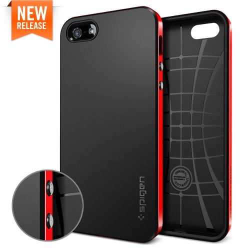 国内正規品SPIGEN SGP iPhone5 ケース ネオ・ハイブリッド [ダンテ・レッド]SGP10363