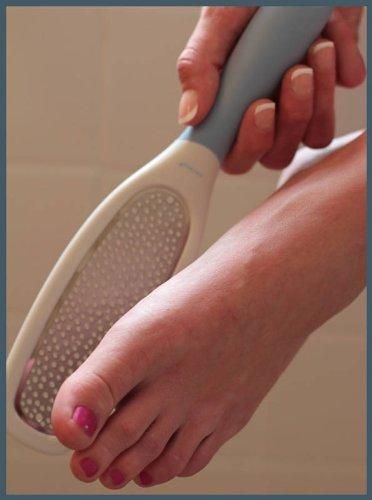 Imagen de Pie Denco Grip Profesional Easy suave ~ ~ w Callus Shaver / Garantía de por vida