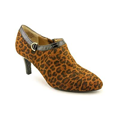Circa Joan & David Women's Chace Bootie (Brown Multi/Leopard, 10.5)