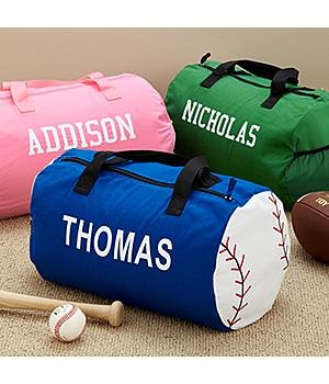 Personalized Kids\\\' Sports Duffel Bags Personalized Kids Sports